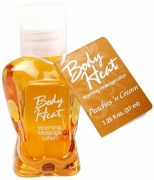 Body Heat Massage Lotion Peaches N Cream 1.25oz