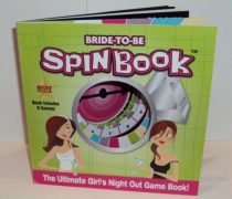 Bride-to-be spinner game book