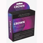 Crown Latex Condoms 36 Economy Pack
