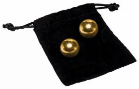 24K Gold Plating Pleasure Balls