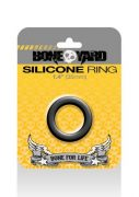 Boneyard Silicone Ring 1.4 inches Black