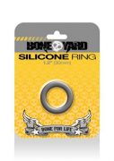 Boneyard Silicone Ring 1.2 inches Gray