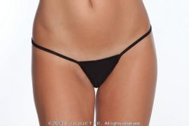 G-String Panty Black XL