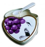 Edible Heart Candle - Grape