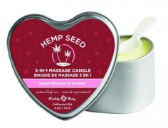 Candle 3-N-1 Heart Seven Minutes In Heaven 4oz