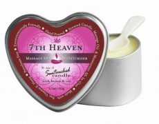 Earthly Body 3-in-1 Candle Heart 7th Heaven 4oz