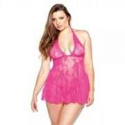 Lace Chemise & G String 1x/2x Pink