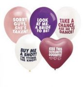 Bachelorette Balloon Asst. Colors