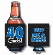 40 Sucks Beer Coolie