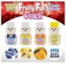 Fruity Fun Flavored Lubricants 4 Pack