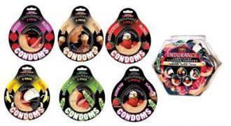 Endurance Condoms 144 Pc Assorted