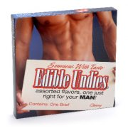 Edible Undies Male Vanilla Ice Cream