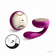 IDA Couples Massager with Remote - Purple