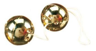 Gold Balls 2pc. Set