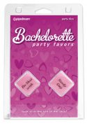 Bachelorette Party Favors Party Dice Pink