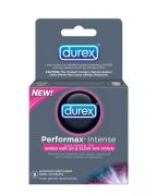 Durex Latex Condoms Performax Intense 3 pack