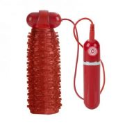 Adonis Vibrating Stroker Red 10 Function
