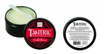 Tantric Soy Candle Vanilla Breeze