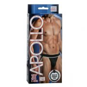 Apollo Mesh Jock with C-Ring Black L/XL