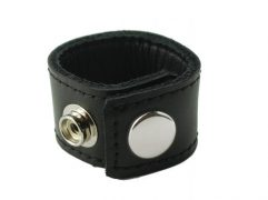Ball Stretcher With Snaps 1 Inch Black