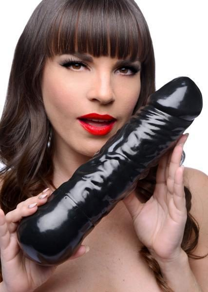 Eruption XL Ejaculating Dildo Black